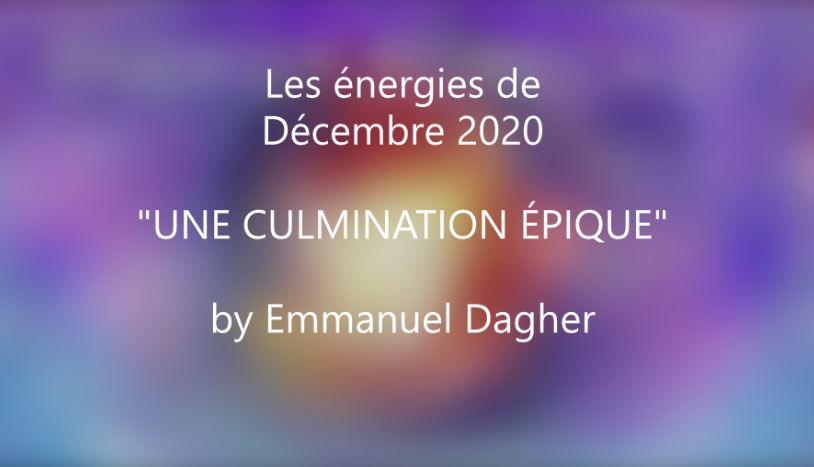 Les énergies du mois de décembre 2020 : une culmination épique