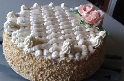 Gâteau noisette.