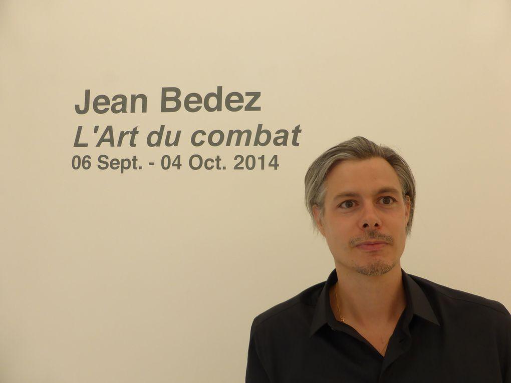 Jean Bedez, L'art du combat. Galerie Suzanne Tarasieve, Paris, septembre 2014 © photographies Le curieux des arts Antoine Prodhomme
