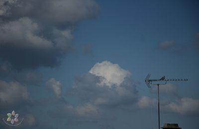 Jolis nuages du Premier Mai..