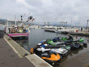 Plage de Gigaro et port de Cavalaire