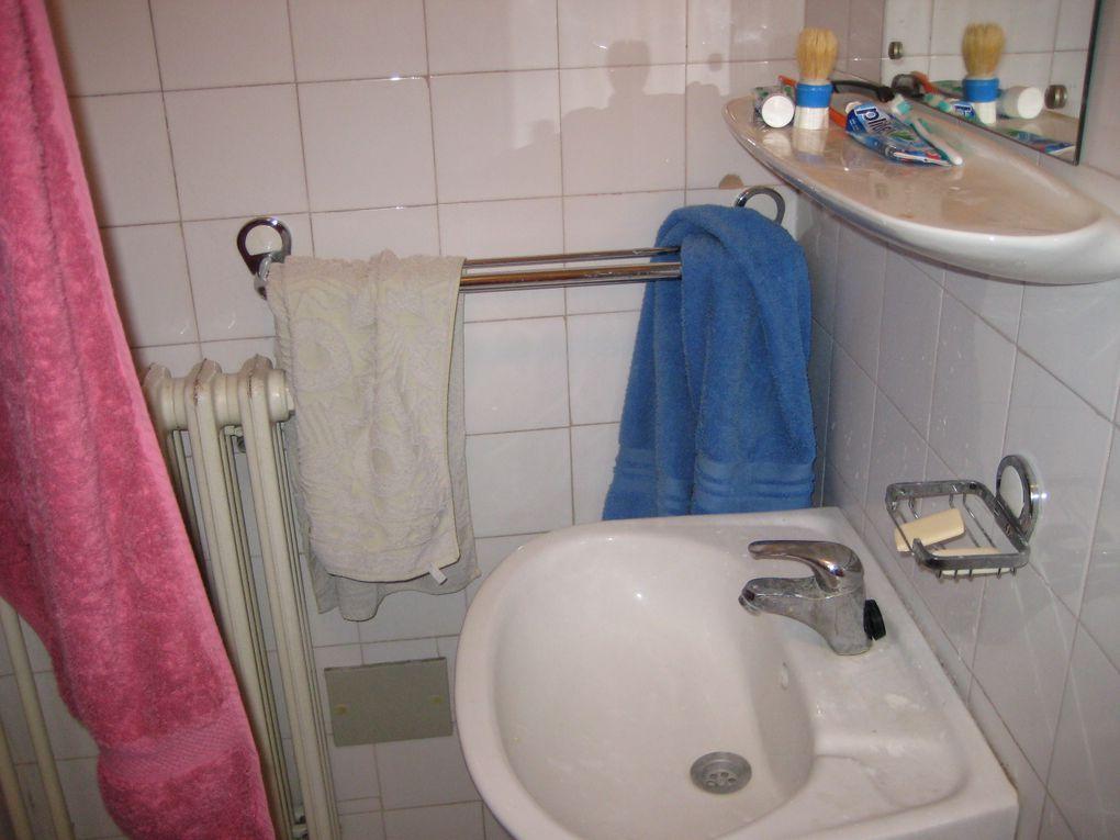 Ma chambre et ma douche