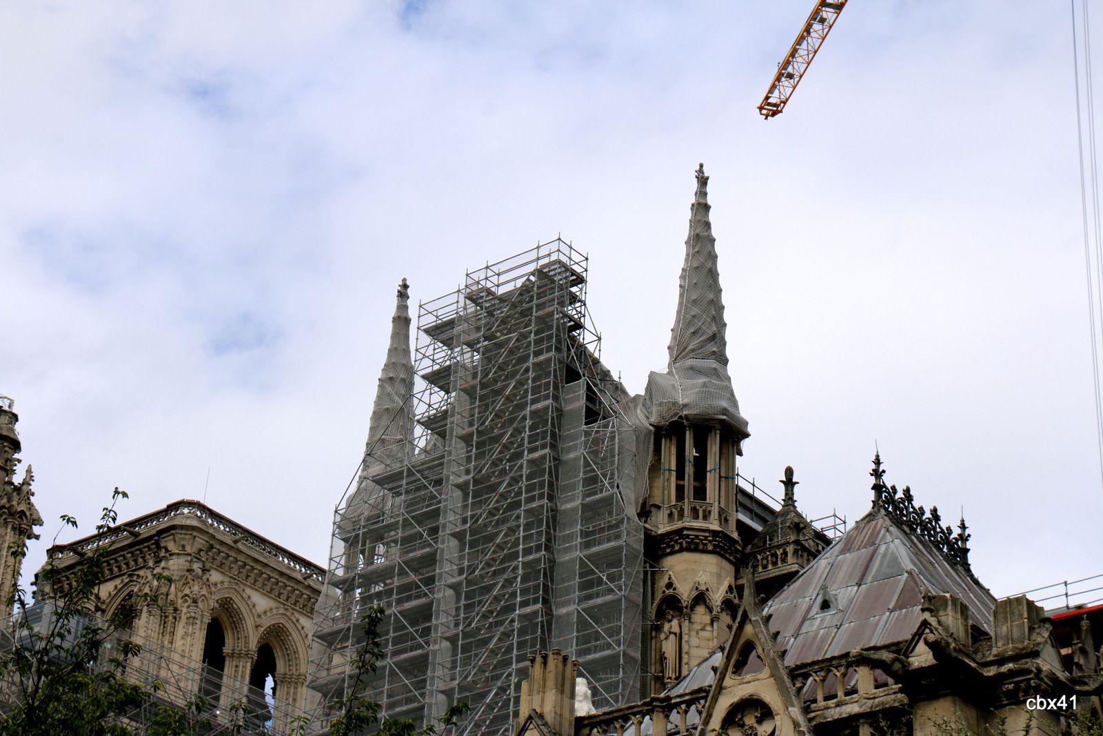 Notre-Dame de Paris, août 2021