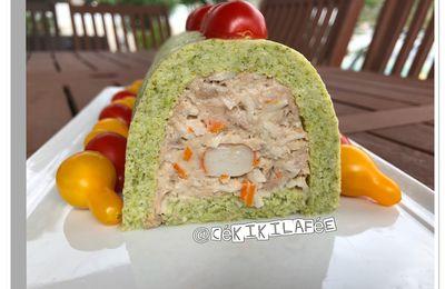 Bûche brocoli thon surimi
