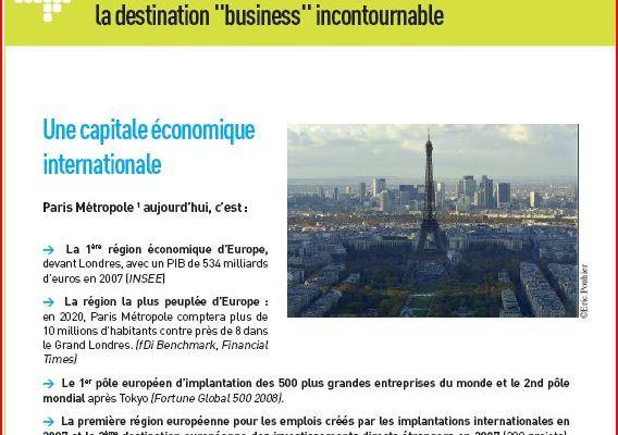 > De l'utilisation du terme Paris Métropole