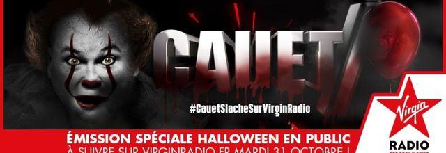 Halloween : Cauet S'Lâche de 18h à 6h du matin sur Virgin Radio