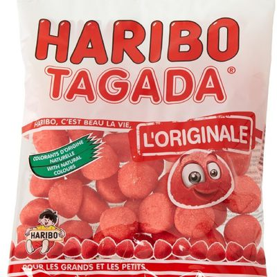 #Haribo #Bonbons #Fraises #Tagada 200 g