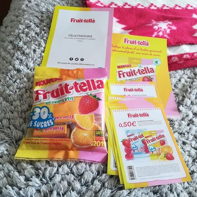 Bonbons Fruit-tella