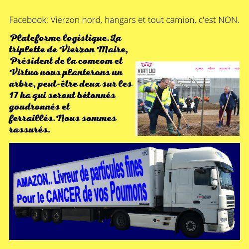 Plateforme logistique Vierzon-La Chapelle Saint-Ursin : même combat