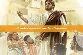 Evangile du Mardi 10 Août « Si quelqu'un me sert, mon Père l'honorera » (Jn 12, 24-26) #parti2zero #evangile