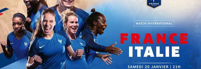 Football Féminin : Le match France / Italie à suivre en direct ce soir sur C8