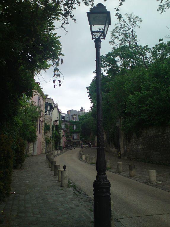 Rue de l'Abreuvoir à Montmartre