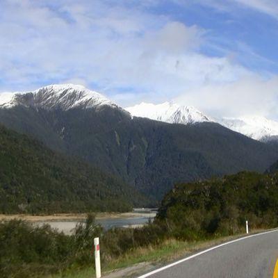 Route vers l'Otago