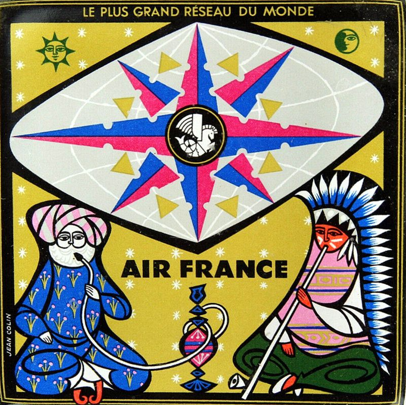 PUBLICITES : LES  GRANDS  NOMS  DE  L'AFFICHE...    Jean  COLIN.
