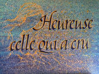 Celle qui a cru Homélie 4° dim Avent C (23.12.2018)
