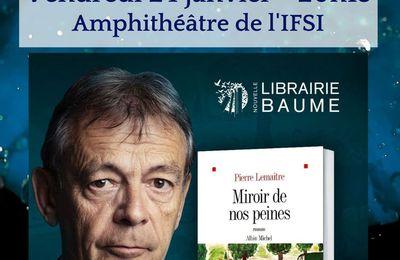 Rencontre avec Pierre Lemaitre à Montélimar le 24