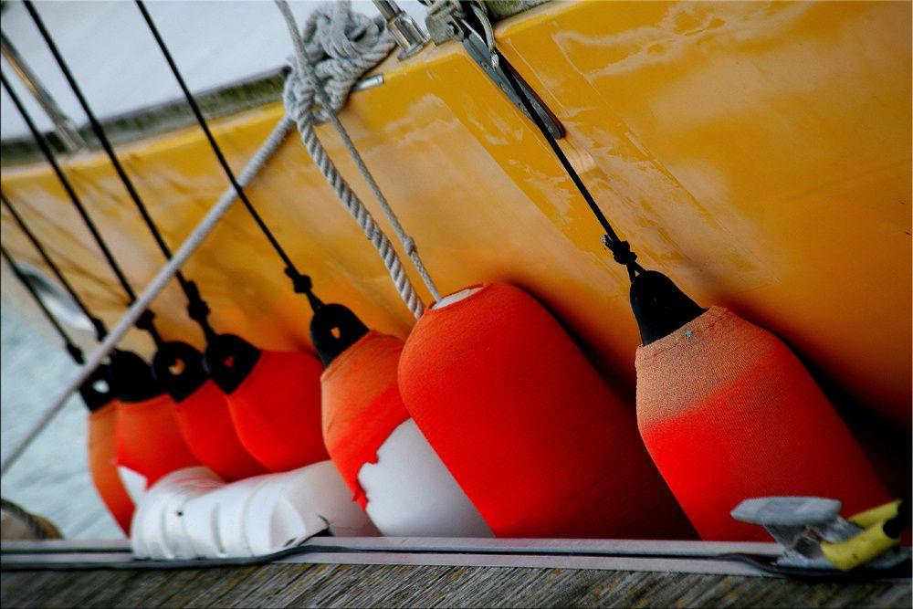 Les bateaux de pêche dans le port de la Turballe Loire-Atlantique - Photos Thierry Weber