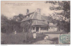 Le Gros Doigt du Hamel - Maison de Latouche à Champsecret