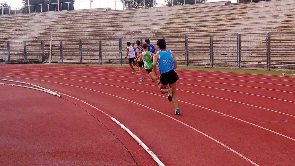 Hedi, en finale du 200 m à Nice.