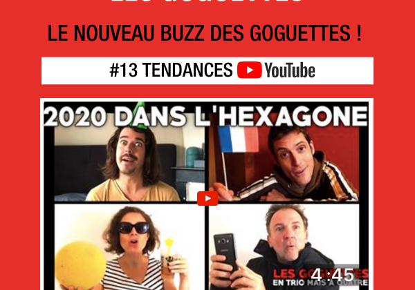 Le nouveau buzz des Goguettes !