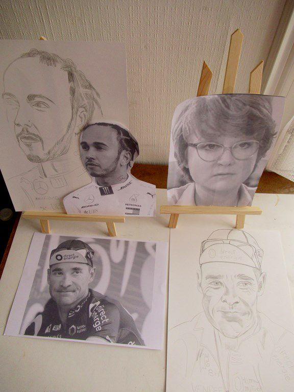 Thomas Voeckler dessin - mon dessin du 18 septembre 2020