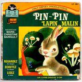 livre disque Pin-Pin lapin malin