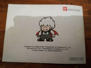 """Quelques photos de la notice dont une note mignonne d'un """"ancien"""" jeune joueur ;-)"""