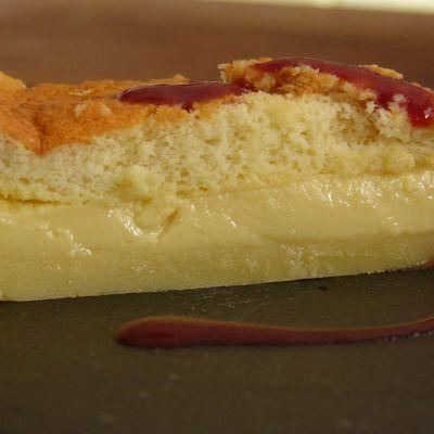 Gâteau magique à la vanille Bourbon