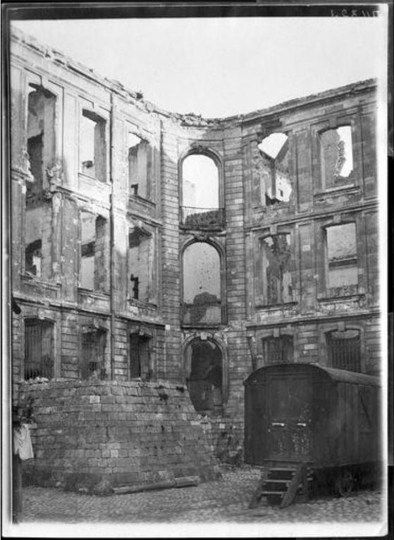 6 mars 1918.  (source : Ministère de la Culture, Médiathèque de l'architecture et du patrimoine, dist. RMN-GP)
