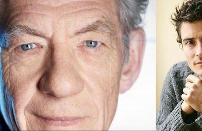 Deauville 2015 - Ian McKellen et Orlando Bloom seront présent au festival de #Deauville2015 pour des hommages - Deux Héros sur les planches @DeauvilleUS