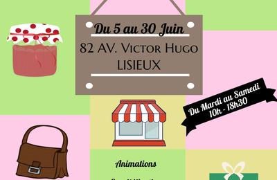 Boutique éphémère à Lisieux