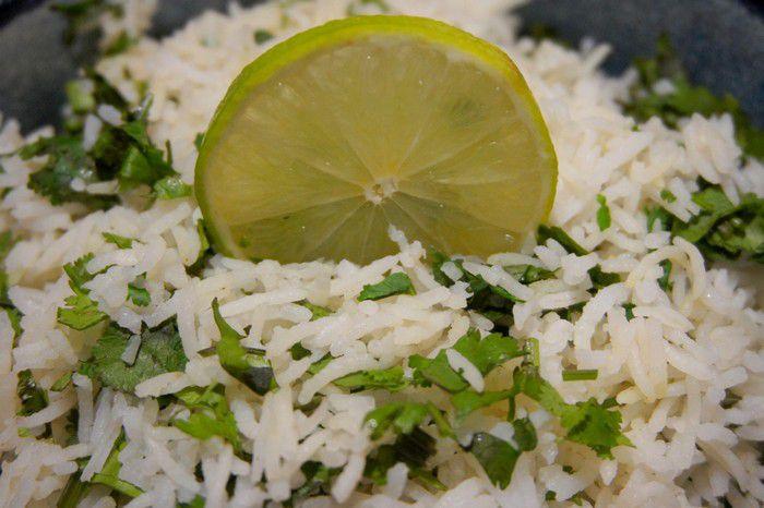 Recette riz à la coriandre et citron vert
