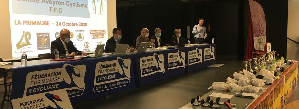 Assemblée Générale du Comité Départemental FFC de l'Aveyron
