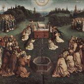Hubert et Jan van Eyck - L'Adoration de l'Agneau mystique - LANKAART
