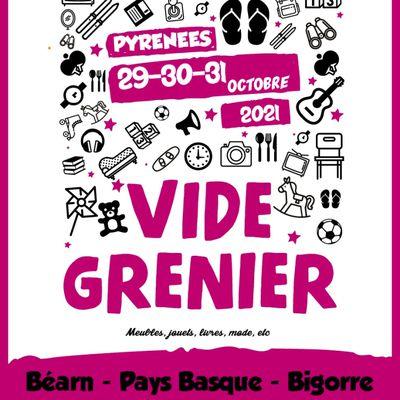 Vide Greniers Octobre #4 des Pyrénées 2021