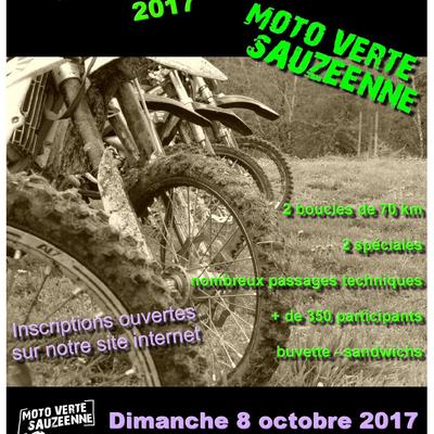 Rando La Sauzeenne le 8 octobre 2017 à Sauzé-Vaussais (79)