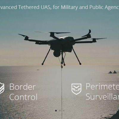 Les drones filaires : c'est quoi ? Voici ELISTAIR