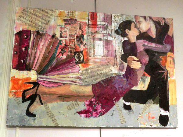 Les artistes exposent au Fief à Villecresnes !!