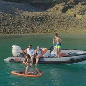 Zeppelin Vitamine a fully equipped rigid inflatable boat dedicated to family pleasure - Yachting Art Magazine
