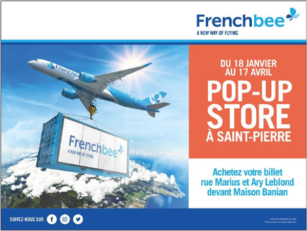 Pop-up store French bee