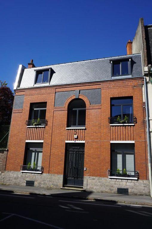 13 rue Aristide-Briand. Georges Trassoudaine, architecte, 1935 (détail).