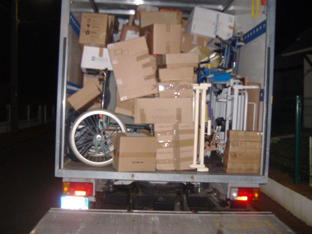 1er transfert en préparation pour l'envoi no 9