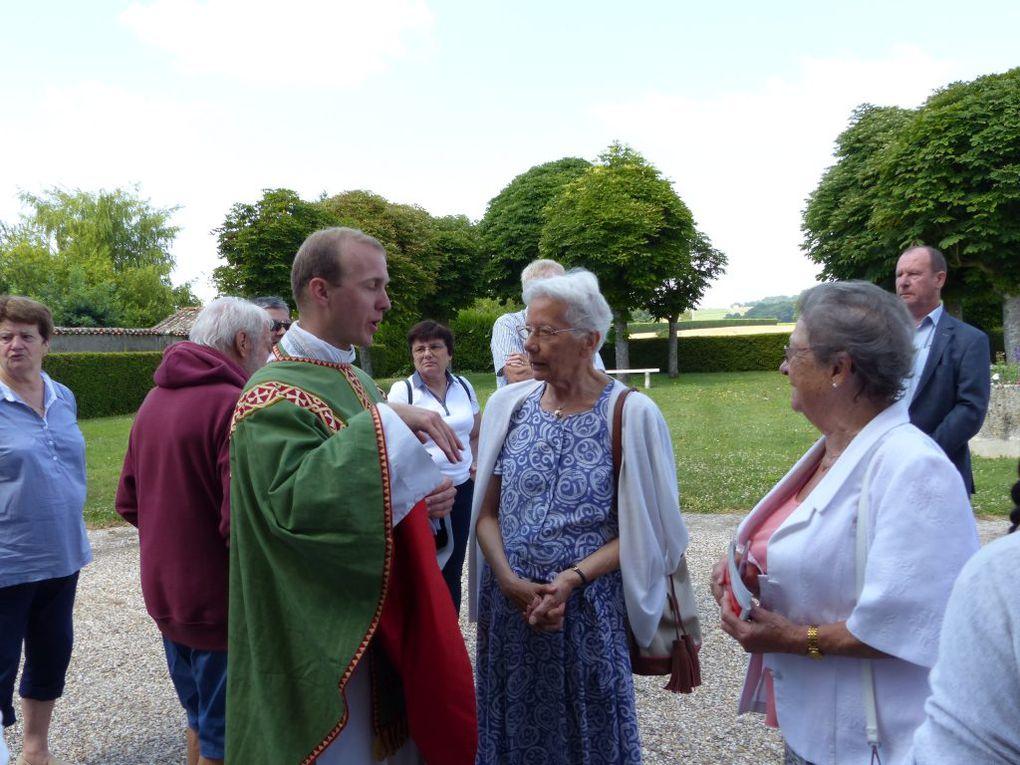 7  juillet : 1ere messe de l'abbé Vianney Arnauld