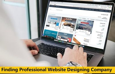 Finding Professional Website Designing Company