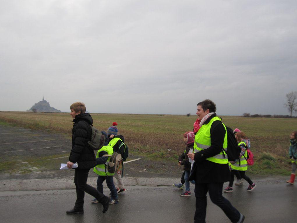 La classe de GS –CP s'est rendue au Mont-Saint-Michel pour la 2ème fois de l'année.