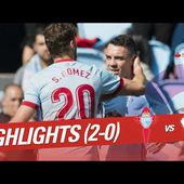 Resumen de RC Celta vs SD Eibar (2-0)