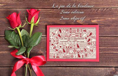 """SAL """"JEU DE LA BRODEUSE"""" de JL. GRANDSIRE 2ème EDITION - 2ème OBJECTIF TERMINE - 1 NOUVELLE PHOTO"""