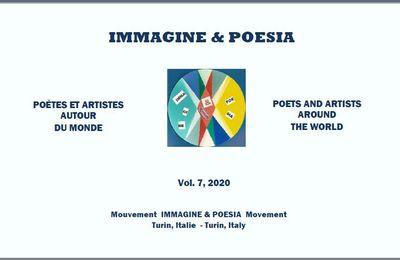 Poésie et peinture signées Viktoria LAURENT-SKRABALOVA dans l'anthologie numérique Immagine&Poesia
