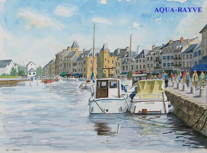 Aquarelles d'autres villes ou villages découverts lors de mes périples en France et que j'ai particulièrement aimés. (A suivre)
