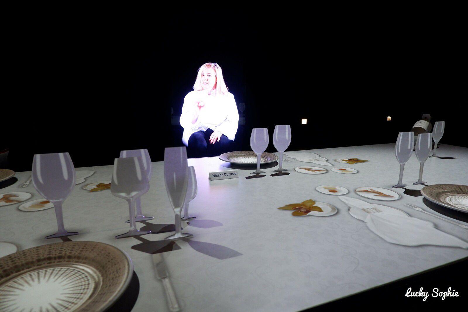 A la Cité du Vin, on s'est même assis à la table d'Hélène Darroze !